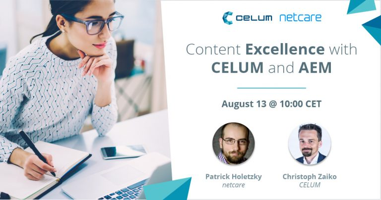 Webinar Content Excellence with CELUM and AEM