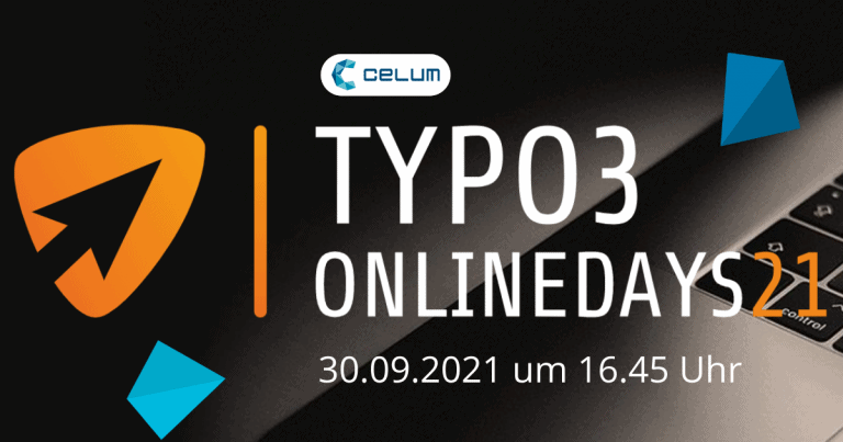 CELUM bei den TYPO3 Onlinedays 2021